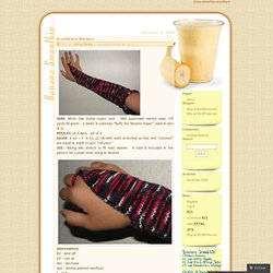 Drusilla Arm Warmers « ChocolateFlavoredYarn