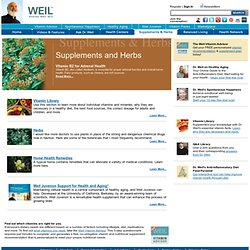 Official Website of Andrew Weil, M.D.