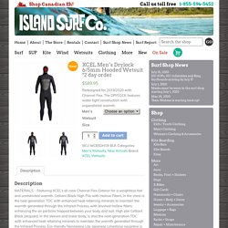XCEL Men's Drylock 6/5mm Hooded Wetsuit *2 day order - Island Surf Company