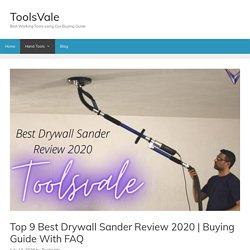 Top 9 Best Drywall Sander Review 2020