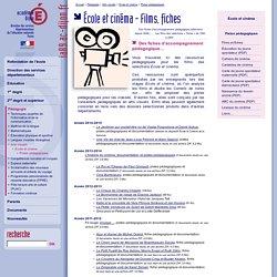 DSDEN 89 - École et cinéma - Films, fiches