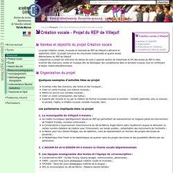 DSDEN du Val-de-Marne- Éducation musicale