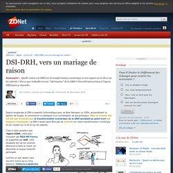 DSI-DRH, vers un mariage de raison
