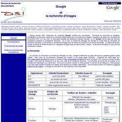 Google et la recherche d'images