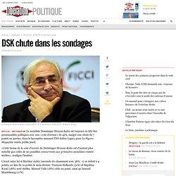 DSK chute dans les sondages
