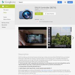 DSLR Controller (BETA) - Android Apps auf Google Play