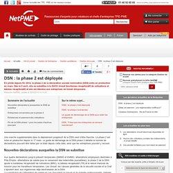 DSN : la phase 2 est déployée NetPME