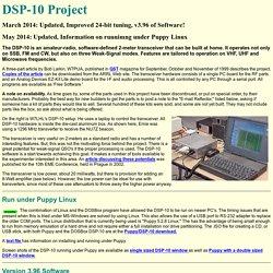 DSP-10 2-m Amateur Radio SDR-W7PUA