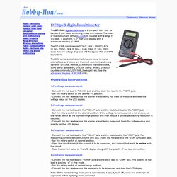The DT830B pocket-size digital multimeter