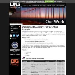 DTT Receiver Downloads