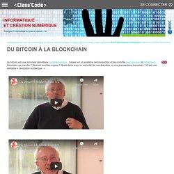 Du bitcoin à la blockchain