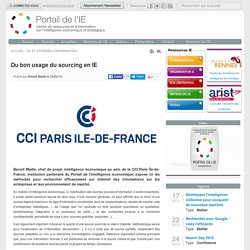 Du bon usage du sourcing en IE