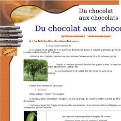 Du chocolat aux chocolats