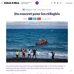 Du concret pour les réfugiés