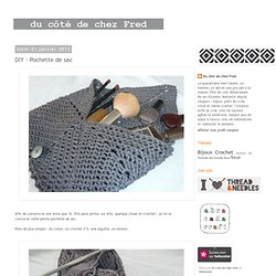 DIY - Pochette de sac