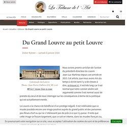 Du Grand Louvre au petit Louvre
