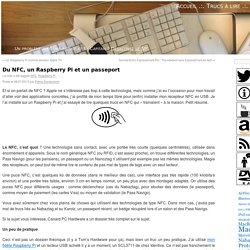 Du NFC, un Raspberry Pi et un passeport