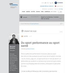 Du sport performance au sport santé