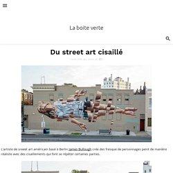 Du street art cisaillé
