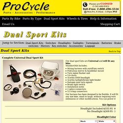 Dual Sport Kits & Components - ProCycle
