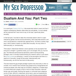 Dualism And You: Part Two