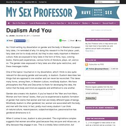 Dualism And You