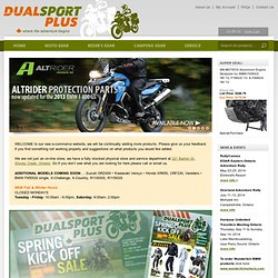 Dualsport Plus Adventure Motorcycle & Rider Gear