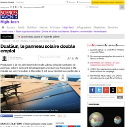 DualSun, le panneau solaire double emploi