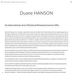 Duane HANSON - espace-art-college