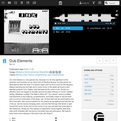 Dub Elements : Jak