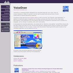 dub :: Project :: VoiceDraw