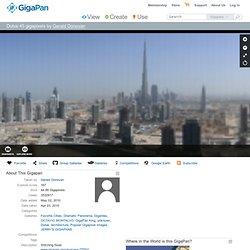 Dubai 45 gigapixels