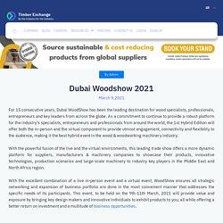 Dubai Woodshow 2021