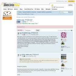 Il Forum di ElectroYou