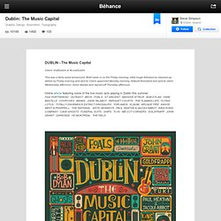 Dublin: The Music Capital on Behance