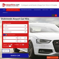 Dubrovnik Airport Car Hire