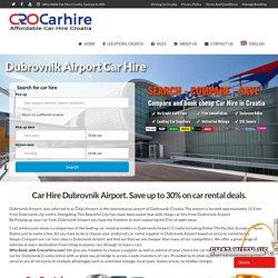 Dubrovnik Airport Car Hire