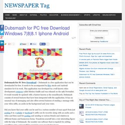 Dubsmash for PC free Download Windows 7