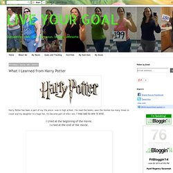 What I Learned from Harry Potter - StumbleUpon