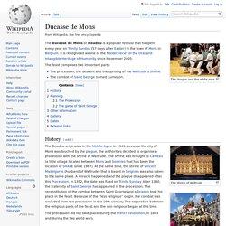 Ducasse de Mons - Wikipedia