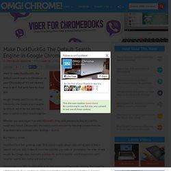 Make DuckDuckGo Default Search Engine in Chrome