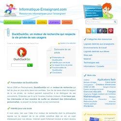 DuckDuckGo, un moteur de recherche qui respecte votre vie privée