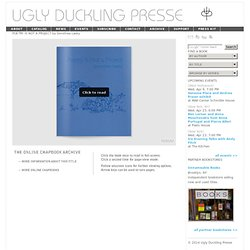 Ugly Duckling Presse | POETRY IS NOT A PROJECT by Dorothea Lasky