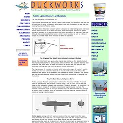 Duckworks Magazine - Semi Automatic Leeboards