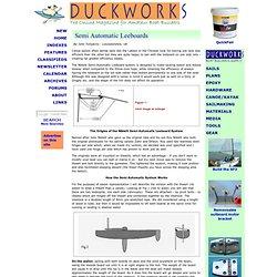 Duckworks Magazine - Semi Automatic Leeboards