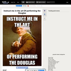 Joseph Ducreux - instruct me in the art of performing the..