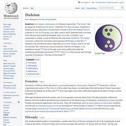 Dudeism