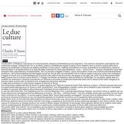 """""""Le due culture"""", 50 anni dopo in Percorsi"""