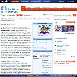 Duende Verde - Wiki SPIDERMAN la serie animada