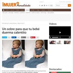 Un sobre para que tu bebé duerma calentito